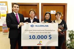 Donación en la Asociación Madrileña de Espina Bífida