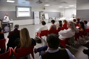 Seminari del Dr Ordiz a Mesoestetic.