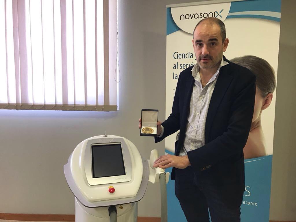 Novasonix fue galardonada por la Asociación Española de Profesionales de la Imagen